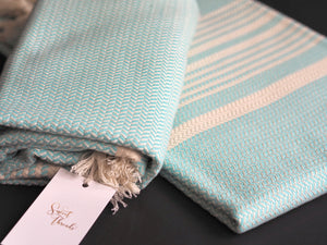 Authentic Turkish Towel - Herringbone Weave