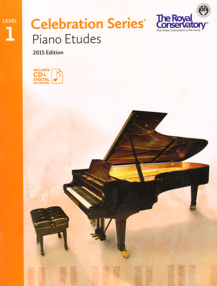 RCM Piano Etudes Level 1 Celebration Series 2015 ED