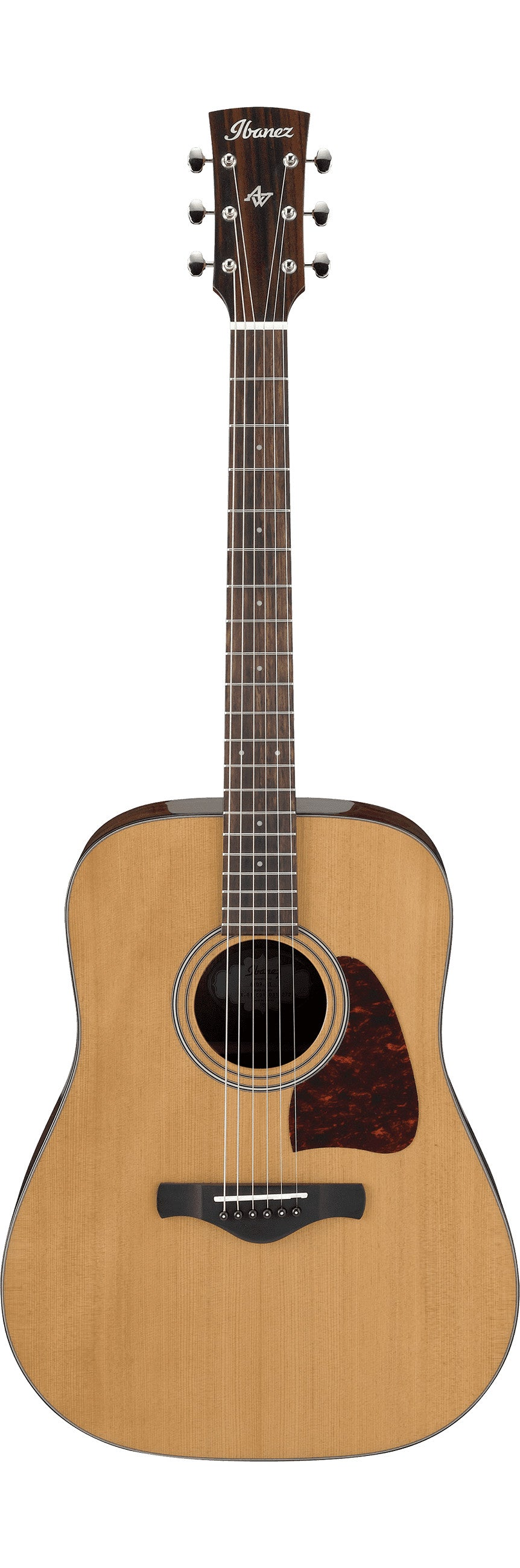 Ibanez AVD9-NT Artwood Vintage Thermo Aged Acoustic Guitar-Natural