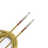 D'Addario PW-BG-15TW Braided Instrument Cable - Tweed 15ft