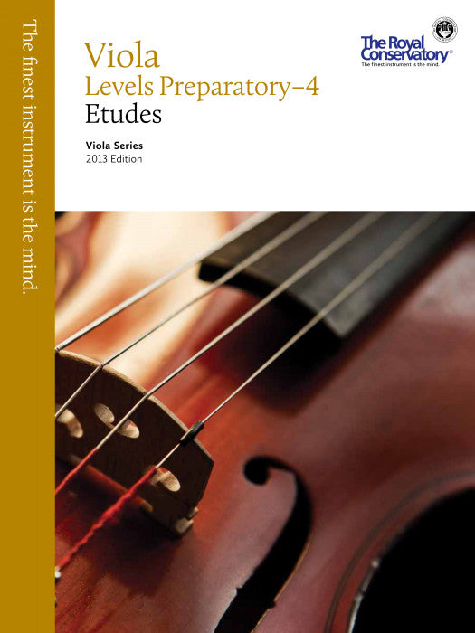 RCM Viola Technique and Etudes Level 4 2013 ED