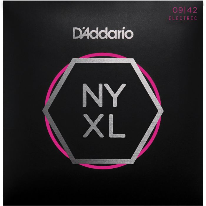 D'Addario NYXL0942 Nickel Wound Super Light 09-42
