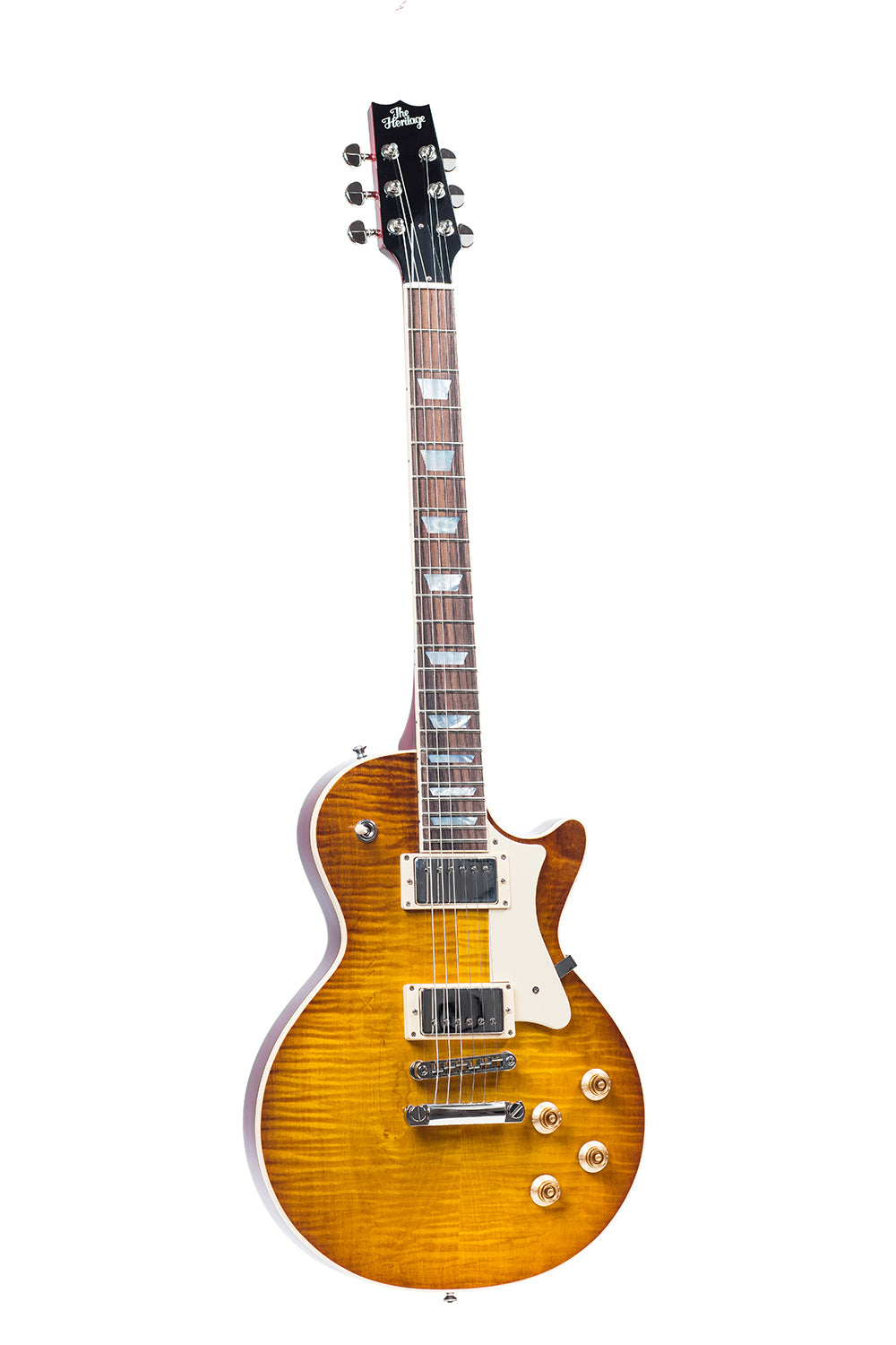 Heritage H150-DLB Solid Body Guitar - Dirty Lemon Burst