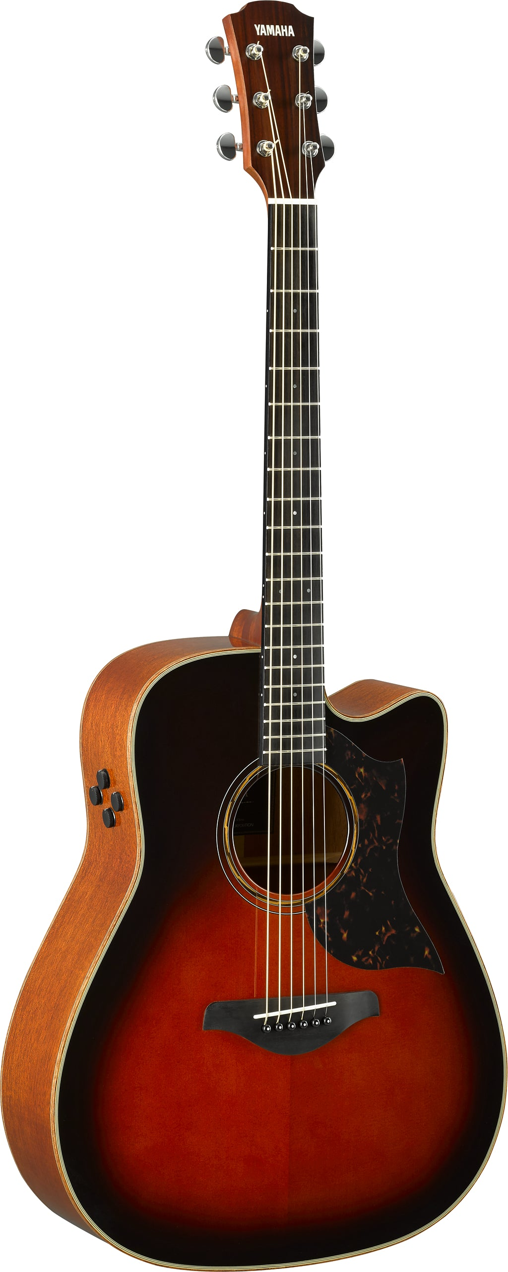 Yamaha A3M TBS Electric Acoustic Guitar - Tobacco Brown Sunburst w/Bag