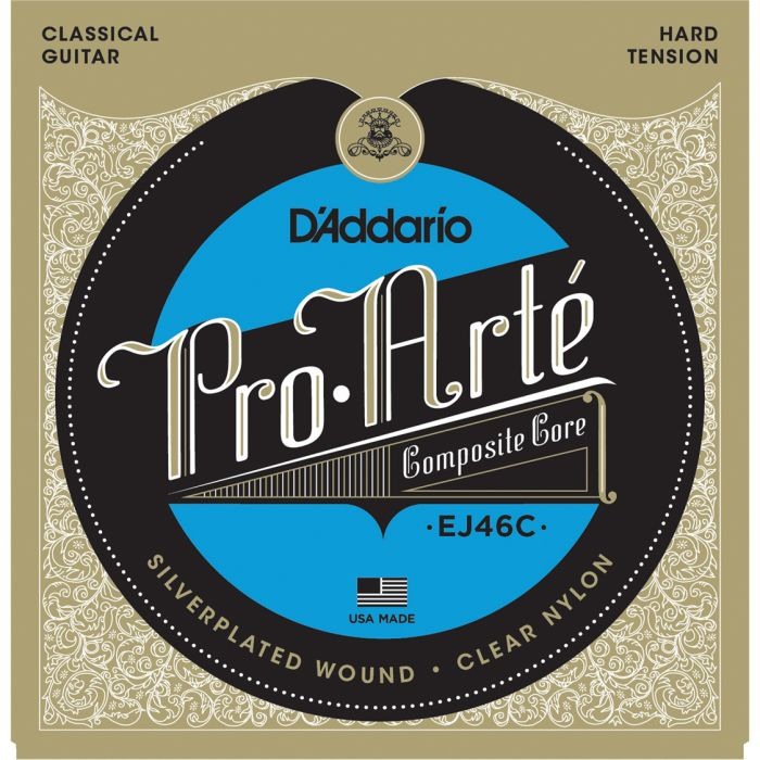 D'Addario EJ46 Pro-Arte© Nylon - Hard Tension