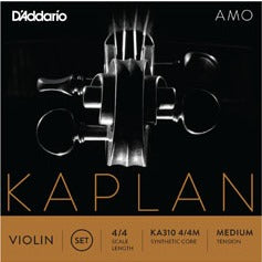 Kaplan Amo Viola String Set - Long Scale - 4/4 Med
