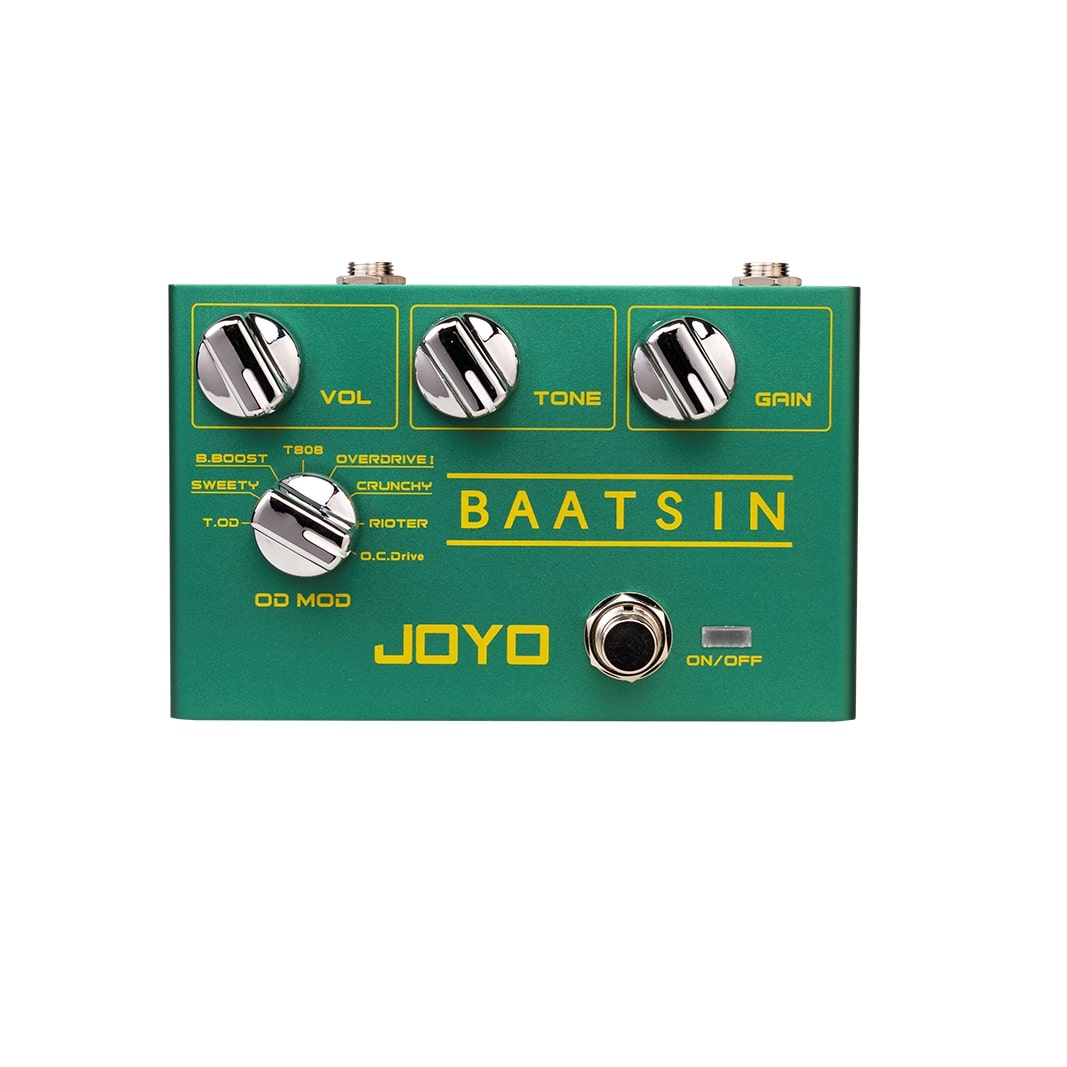 Joyo  R-11 Baatsin Distortion And Overdrive Multi Effect Pedal