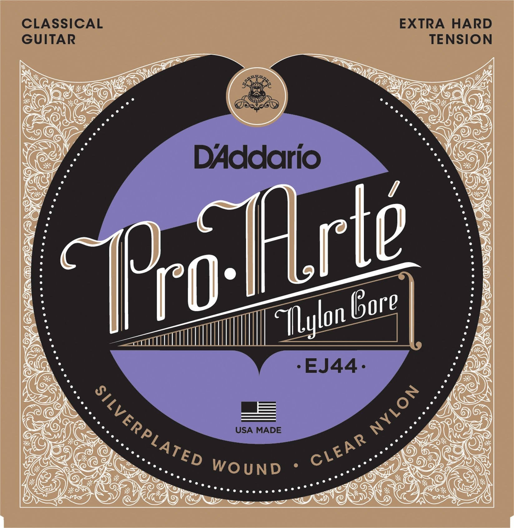 D'Addario EJ44 Pro-Art Nylon Extra Hard Tension