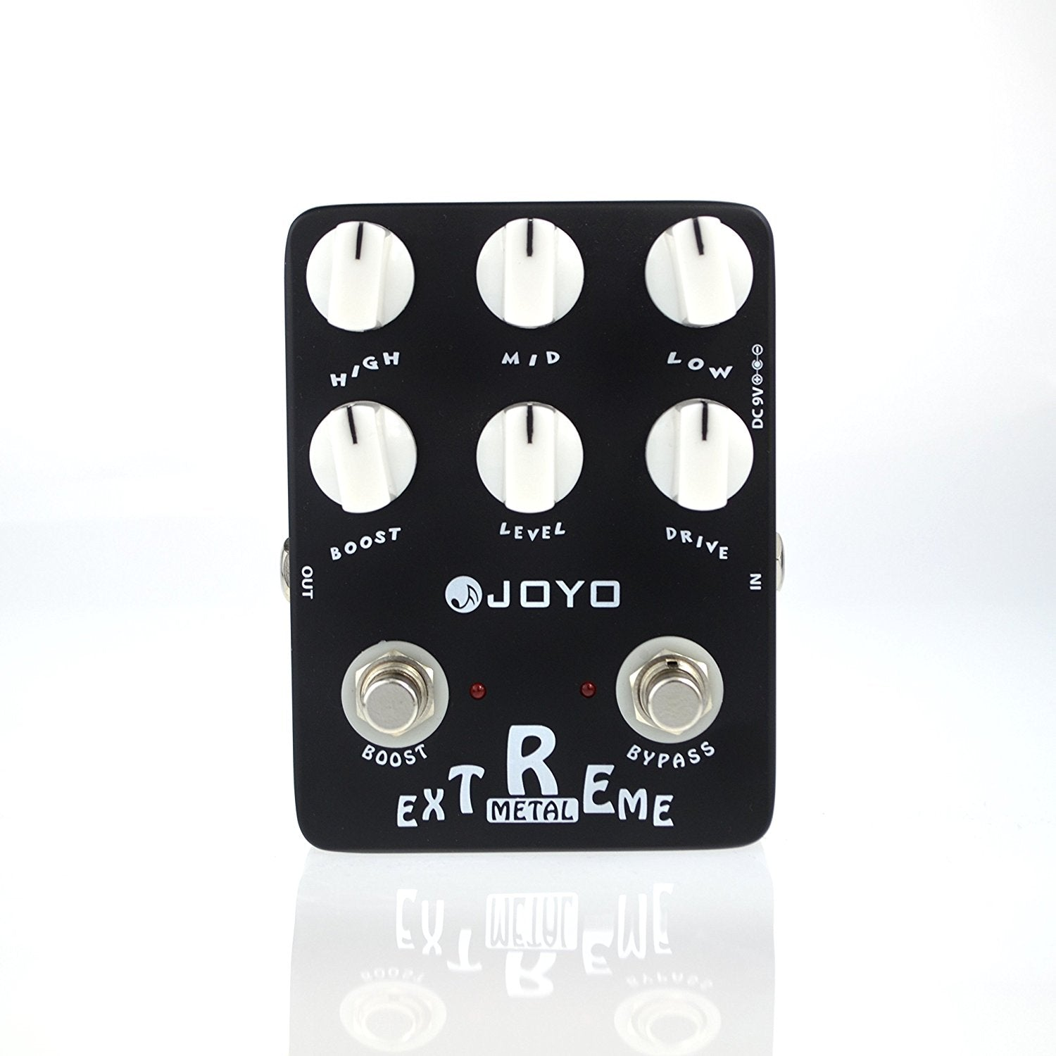 Joyo  JF-17 Extreme Metal, High-Gain Crunch with 3-Band EQ and Gain Boost