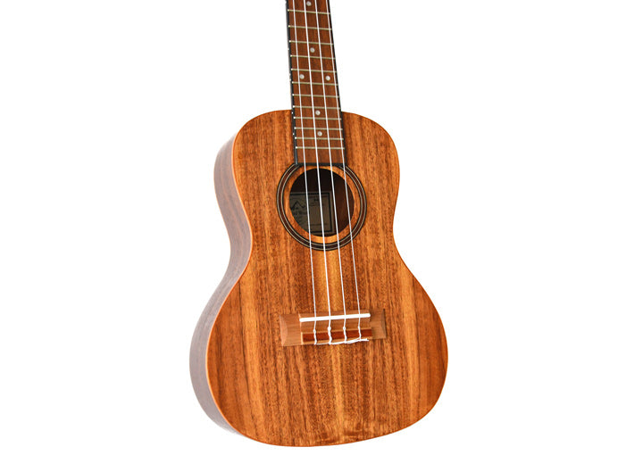 Twisted Wood AR-800C/UK-300T Aurora - Concert Ukulele with gig bag w/ Bellcat electronics