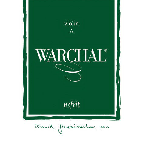 Warchal Nefrit Violin Strings - Ball End 4/4 Med
