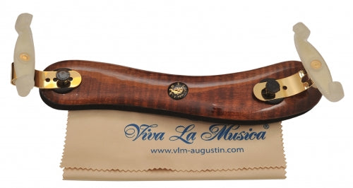 Viva La Musica Diamond Shoulder Rest - Maple Dark