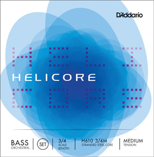 HELIC ORCHESTRAL BASS SET 3/4 MED