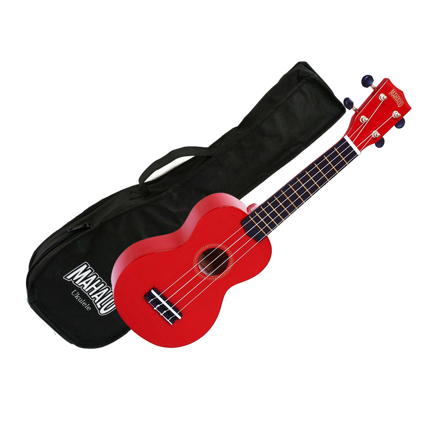 Mahalo MR1-RD Soprano Ukulele w/ Bag - Red