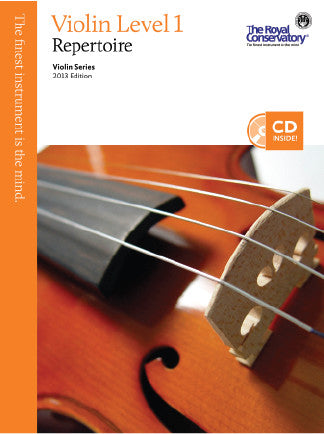 RCM Viola Repertoire Level 1 c/w CD 2013 ED