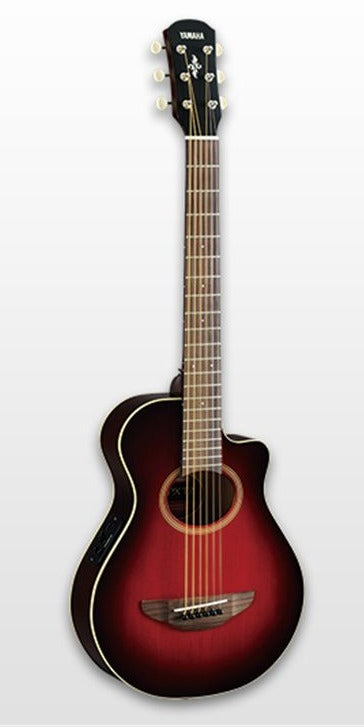 Yamaha APXT2 DRB Travel 3/4 Guitar Dark Red Burst w/Gig Bag