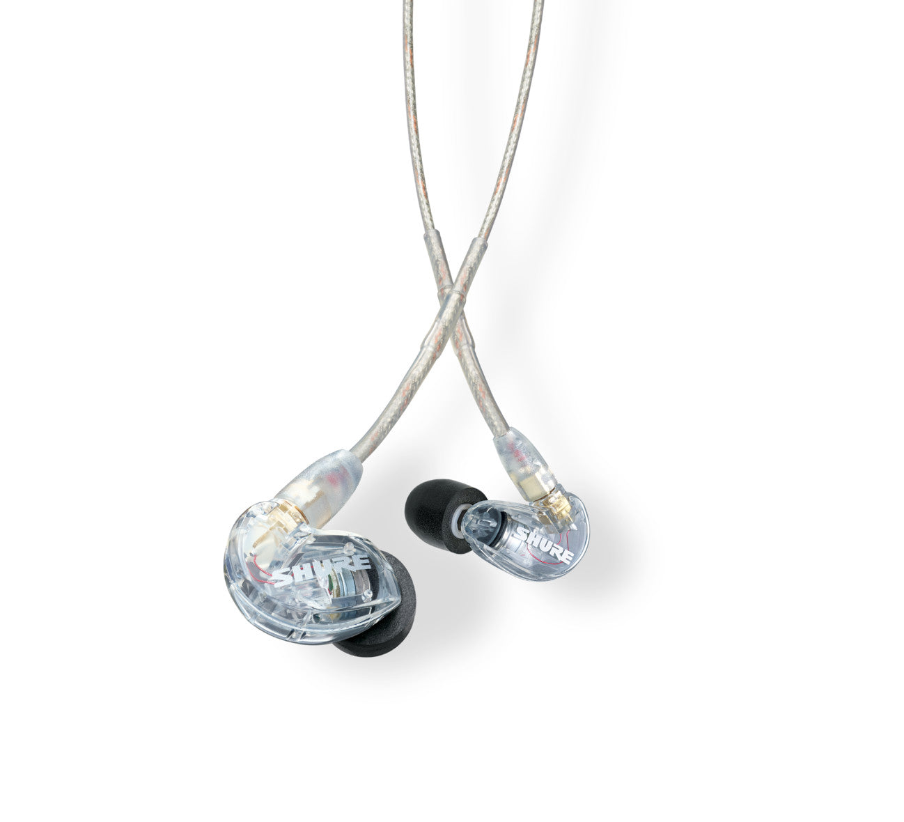Shure SE215-CL Clear Isolating Earphones with Single Driver