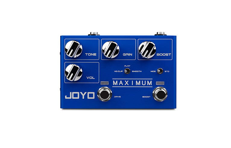 Joyo R-05 Zip Maximum Overdrive Effect Pedal