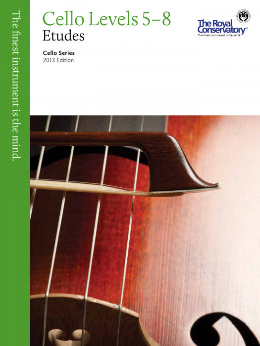 RCM Cello Technique and Etudes Level 5-8 2013 ED
