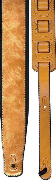 Profile 2.8'' Leather Strap W/ Foam Padding - Tan