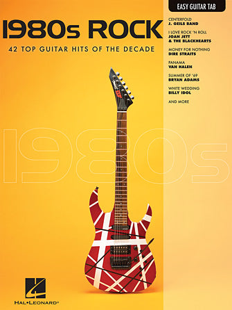 1980S ROCK - Guitar Book