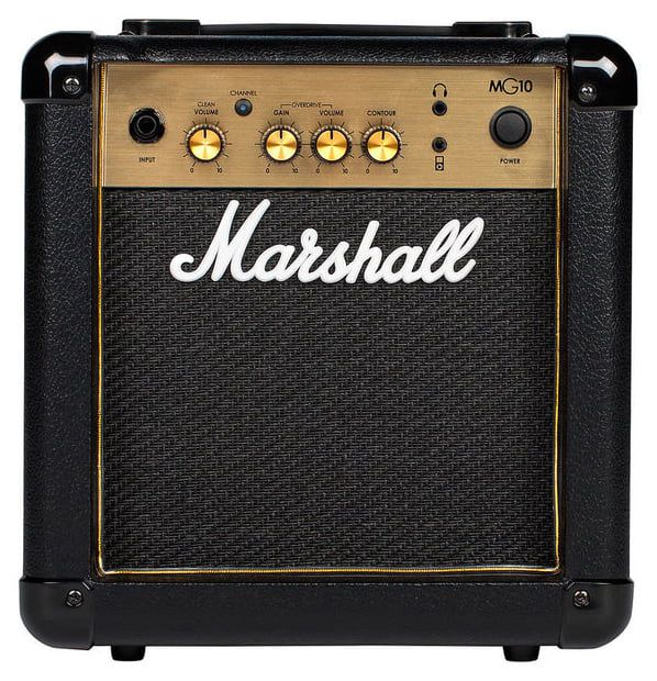 Marshall MG10 10-watt - 2-ch 1x6.5'' Guitar Combo Amplifier