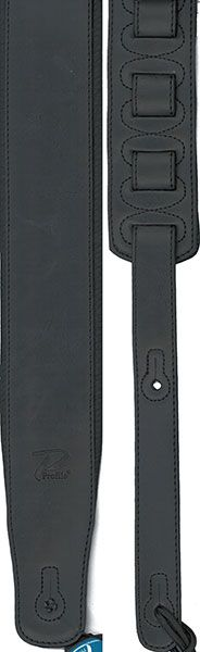 Profile 2.8'' Leather Strap W/ Foam Padding - Black