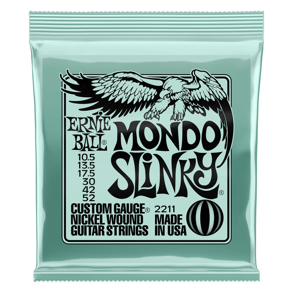 Ernie Ball 2211EB Mondo Slinky N W Electric Guitar Strings