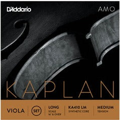 Kaplan Amo Viola String Set, Long Scale, Medium