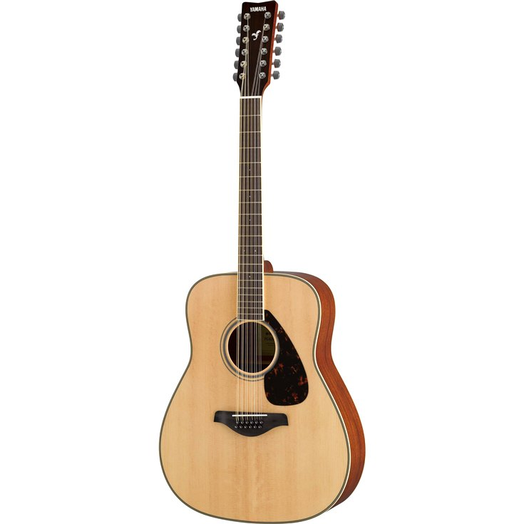 Yamaha FG820-12 Acoustic Guitar - Natural