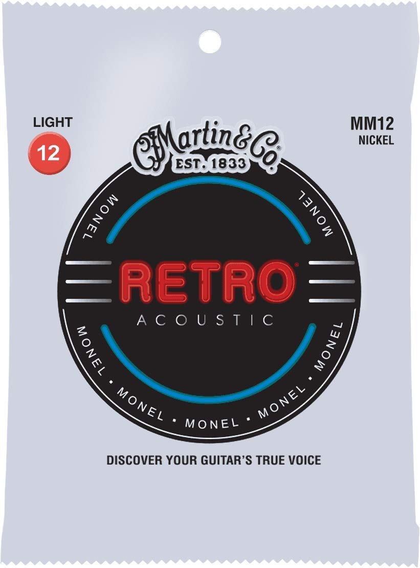Martin MM12 Retro® Acoustic Strings