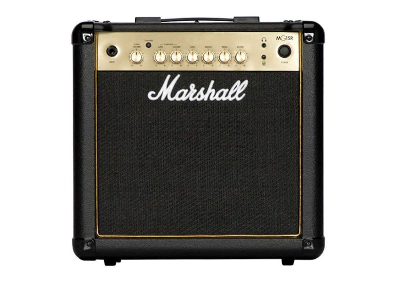 Marshall MG15R 15-watt - 2-channel 1x8'' Guitar Combo Amp w/Reverb