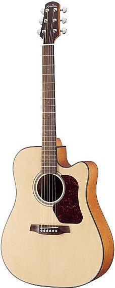 Walden D550CE Natura Solid Spruce Top Dreadnought Acoustic-Electric -  Satin Natural