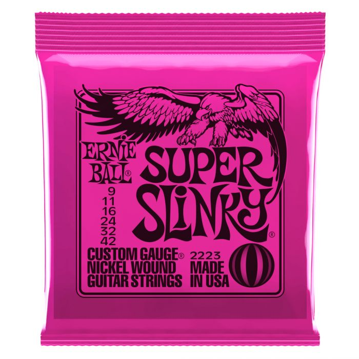 Ernie Ball 2223EB Super Slinky N W Electric Guitar Strings