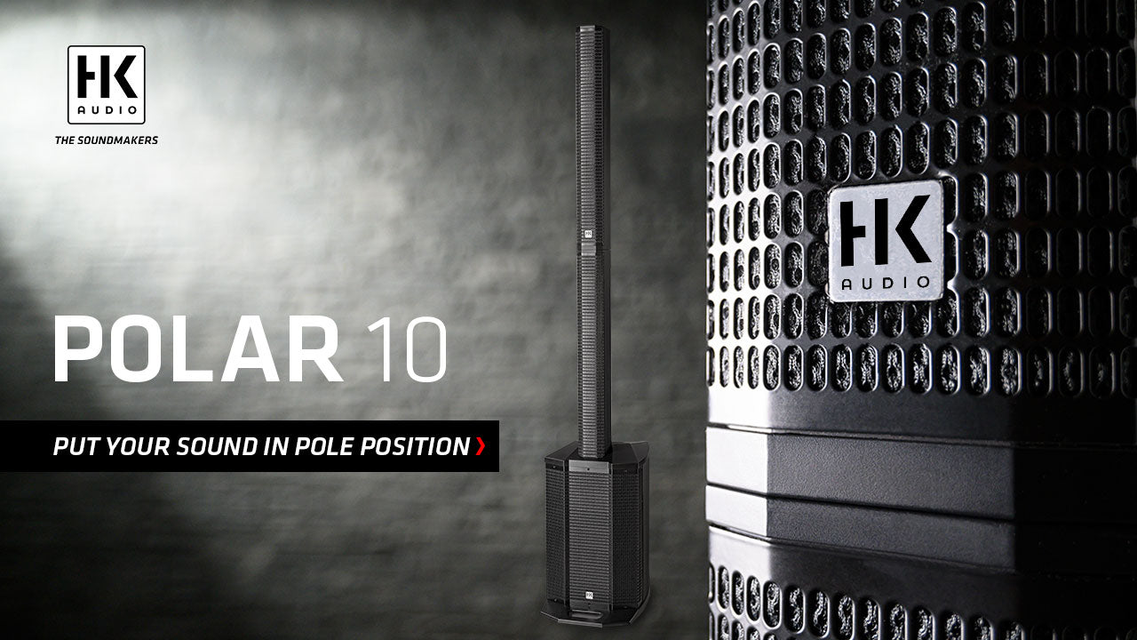 HK Audio Polar 10 PA System