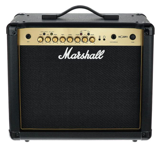 Marshall MG30FX 30-watt, 4-ch 1x8'' Guitar Combo Amp w/Digital Effects/Reverb