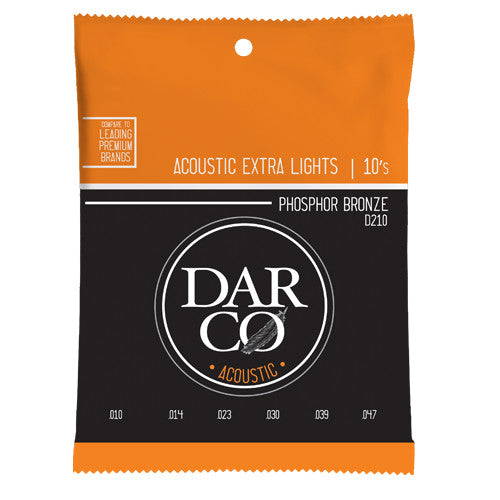 Martin Darco D210 Phosphor Bronze Acoustic Strings 10-47