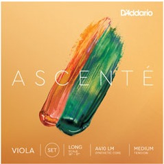 D'Addario Ascenté Viola String Set - Long Scale - Med