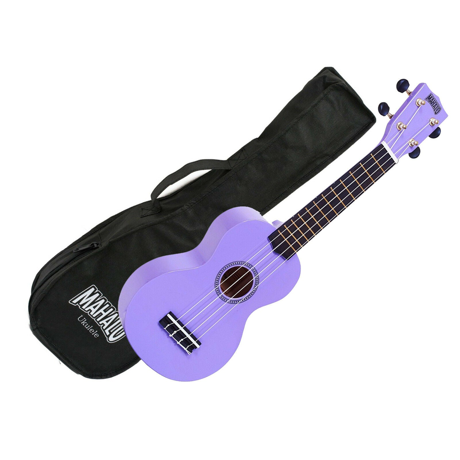 Mahalo MR1-PP Soprano Ukulele w/ Bag - Purple