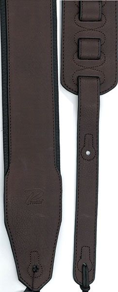 Profile PGS775-1 2.8'' Leather Strap W/ Foam Padding Brown