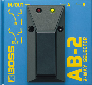 BOSS AB-2 Footswitch 2-Way Selector