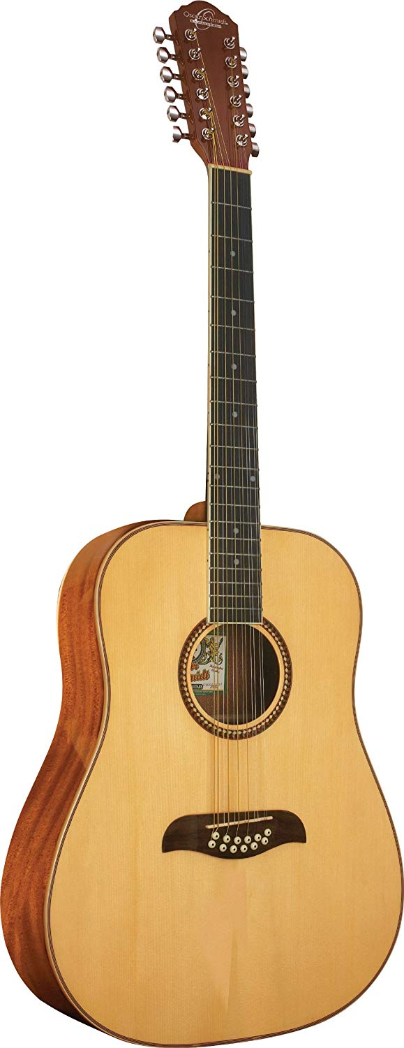 Oscar Schmidt OD312-A Acoustic Guitar 12 Str.- Natural
