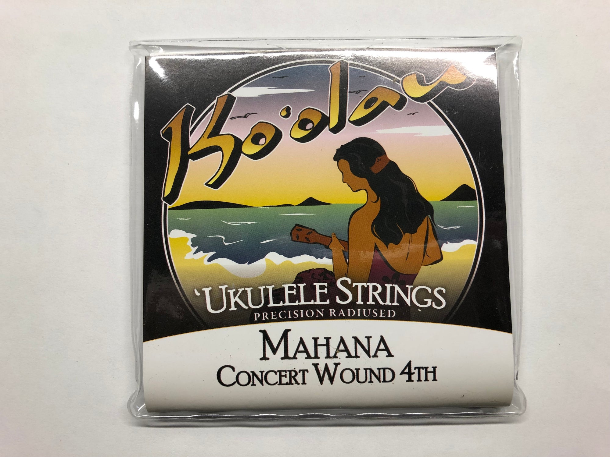 Koolau Mahana Concert Ukulele Strings - Wound 4th Low G