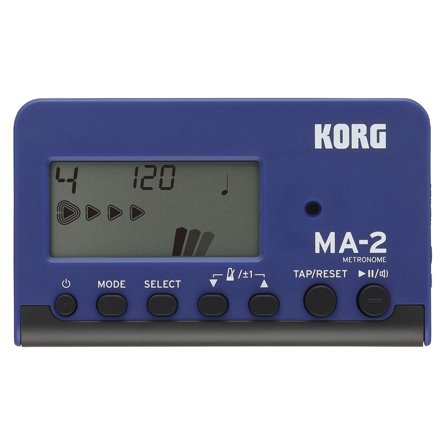 Korg MA-2 Digital LCD Metronome - Blue / Black