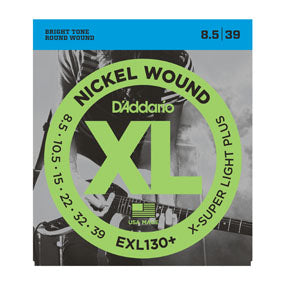 D'Addario EXL130+ N W - X-Extra Super Light Plus - 08.5-39