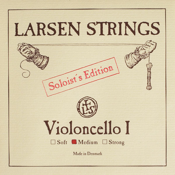 Larsen Cello String A - Solo 4/4 Med