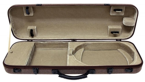 GEWA Violin Case Bio Oblong Brown - 4/4
