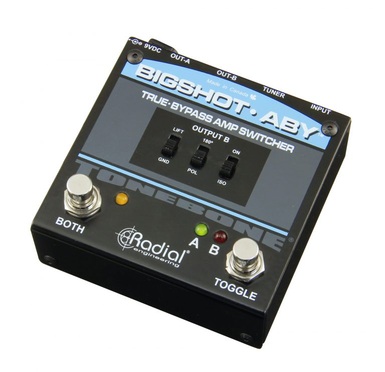 Radial BigShot ABY True-Bypass Amp Switcher