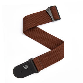 D'Addario PWS109 Polypropylene Guitar Strap - Brown