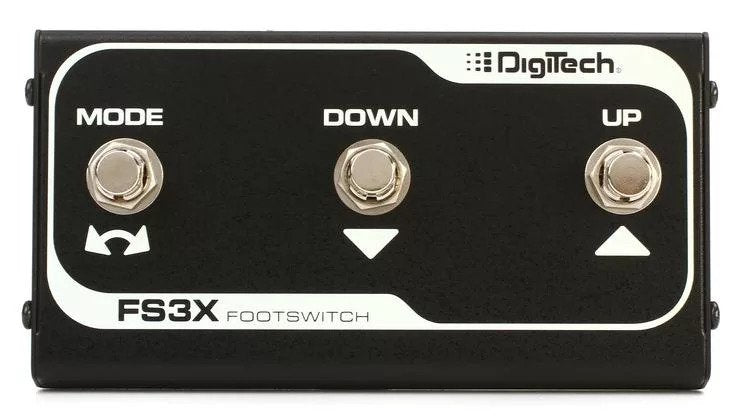 Digitech FS3X 3-button Foot Switch for Trio+